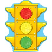 Carson Dellosa® Two Sided Decoration, Stoplight