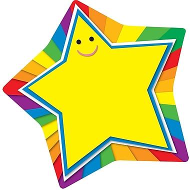 Carson Dellosa® Two Sided Decoration, Rainbow Stars