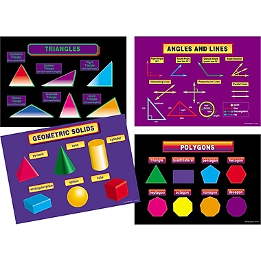 Carson Dellosa® Bulletin Board Set, Geometry