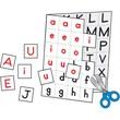 Carson Dellosa® in.Individual Making Words Letterin. Grade 1st-3rd Manipulative, Letter Recognition