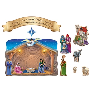 Carson Dellosa® Bulletin Board Set, Nativity and the Magi's Visit