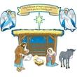 Carson Dellosa® 17 Piece Bulletin Board Set, Nativity