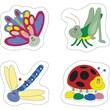 Carson Dellosa® Bugs Chart Seal Sticker