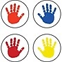 Carson Dellosa® Handprints Chart Seal Sticker