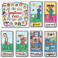 Carson Dellosa® Bulletin Board Set, Kid-Drawn Emotions