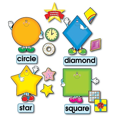 Carson Dellosa® Bulletin Board Set, Shapes