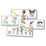 Carson Dellosa® Bulletin Board Set, Traditional Manuscript Alphabet With Photographs