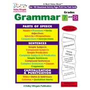 Carson Dellosa® Grammar Grade 7-8 Workbook, Language Arts