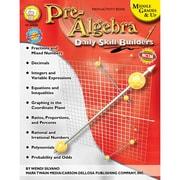 Carson Dellosa® Daily Skill Builders Pre-Algebra Resource Book, Grades 6 - 12