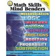 Carson Dellosa® Mark Twain Media Math Skills Mind Benders Resource Book, Grades 6 - 12