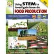 """Carson Dellosa® """"Using STEM to Investigate Issues in Foo..."""" Resource Book, Grades 5 - 8"""