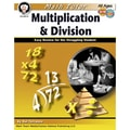 Carson Dellosa® Math Tutor: Multiplication and Division Resource Book, Grades 4 - 8