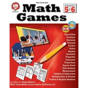 Carson Dellosa® Math Games Resource Book, Grades 5 - 6