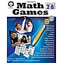 Carson Dellosa® Math Games Resource Book, Grades 7