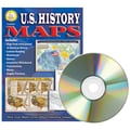 Carson Dellosa® Mark Twain Media U.S. History Maps CD - ROM, Grades 5 - 8