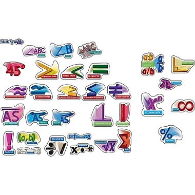 Carson Dellosa® Bulletin Board Set, Math Symbols Punch-Outs