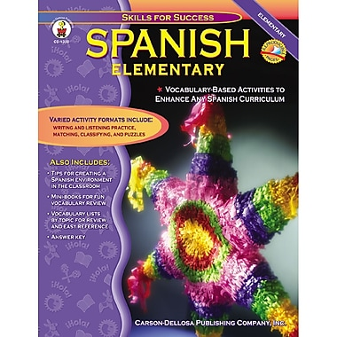 Carson Dellosa® Spanish Resource Book, Grades K - 5