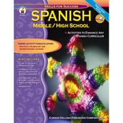 Carson Dellosa® Spanish Resource Book, Grades 6 - 12