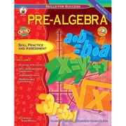 Carson Dellosa® Skills For Success Pre-Algebra Resource Book, Grades 6 - 8