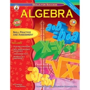 Carson Dellosa® Skills For Success Algebra Resource Book, Grades 6 - 12