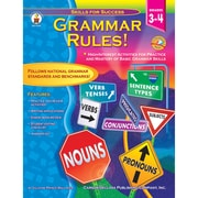"Carson Dellosa® ""Grammar Rules"" Grade 3-4 Resource Book, Language Arts"