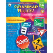"""Carson Dellosa® """"Grammar Rules"""" Grade 5-6 Resource Book, Language Arts"""