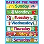 Carson Dellosa® Days of the Week Chart, Classroom