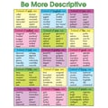 Carson Dellosa® Be More Descriptive Chart, Language Arts, Grades 1-5