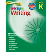 Carson Dellosa® Spectrum Writing Workbook, Grades K