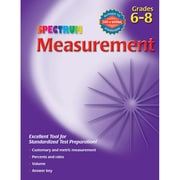 Carson Dellosa® Spectrum® Measurement Workbook, Grades 6 - 8