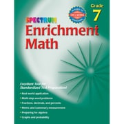 Carson Dellosa® Spectrum Enrichment Math Workbook, Grades 7