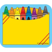 """Carson Dellosa® Name Tags, 2 1/2"""" x 3"""", Crayon Box"""