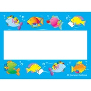 "Carson Dellosa® Name Tags, 2 1/2"" x 3"", School Of Fish"
