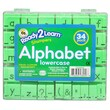 "Center Enterprises Ready2Learn™ 1"" Visual Closure Alphabet Lowercase Manuscript Set"