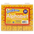 Center Enterprises Ready2Learn™ 1in. Uppercase Transitional Visual Closure Alphabet Stamp Set