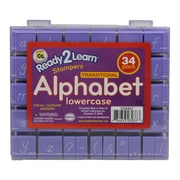 "Center Enterprises Ready2Learn™ 1"" Lowercase Transitional Visual Closure Alphabet Stamp Set"