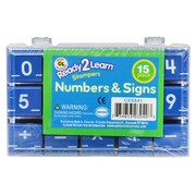 "Center Enterprises Ready2Learn™ 1"" Numbers & Signs"