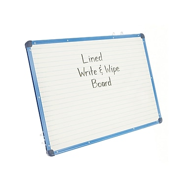 Copernicus Educational Products CEPAC455 Magnetic Lined Dry Erase Board
