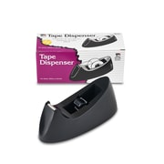 Charles Leonard Desk Top Tape Dispenser, Black