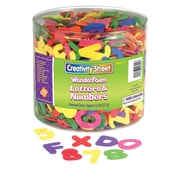 Chenille Kraft CK4304 WonderFoam Multicolor Letters and Numbers