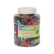Chenille Kraft® Creativity Street® Glittering Confetti Shaker Jar, 8.8 oz., Assorted