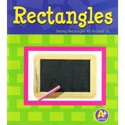 "Capstone ""Rectangulos/Rectangles: Rectangulos a nuestro alrededor/Seeing..."" Accelerated Reader Book"