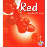 "Capstone ""Rojo/Red: Mira el rojo que te rodea/Seeing Red All Around Us"" Book"