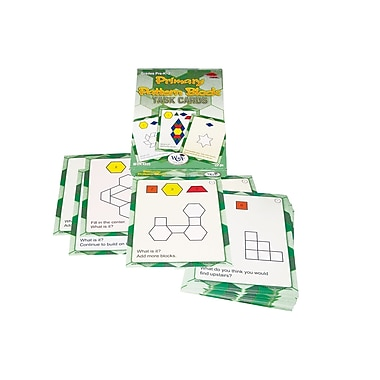 WCA Primary Pattern Blocks Task Cards, Grades Pre-K - 2