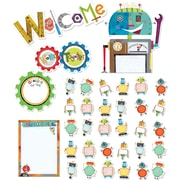 Creative Teaching Press® Bulletin Board Set, Riveting Robots