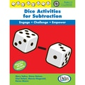 Didax® Dice Activities For Subtraction Resource Book, Grades 1 - 3
