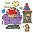 Carson Dellosa® Bulletin Board Set, Cozy Reading Center