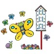 Carson Dellosa® Bulletin Board Set, Butterflies