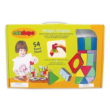 Edushape® Magic Shapes Construction Blocks With Board, Grades Toddler - 1