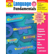 "Evan-Moor® ""Language Fundamentals"" Grade 3 Resource Book, Language Arts"